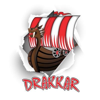 Drakkar avec dechirure
