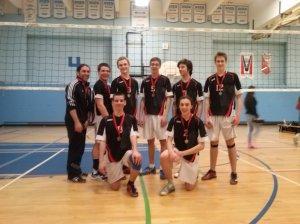 Équipe gagnante cadette masculine