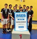 Équipe championne, volleyball scolaire 2014/2015: Le Drakkar de l'Érablière!