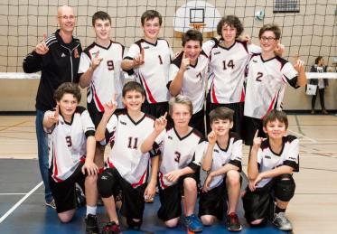 Première place au 1er tournoi de la ligue scolaire RSEQ - 6 décembre 2015