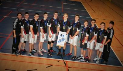 Photo des médaillés.