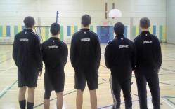 L'équipe, à l'aube de ce 2e tournoi civil.